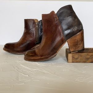 Bed|Stu Quality Leather Ankle Boots Size 10